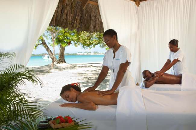 Couples massage oceanside
