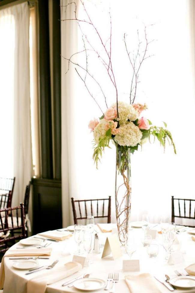 Tall, Dramatic Centerpiece