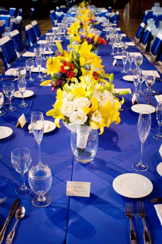 Florals and Long Table at the IMU