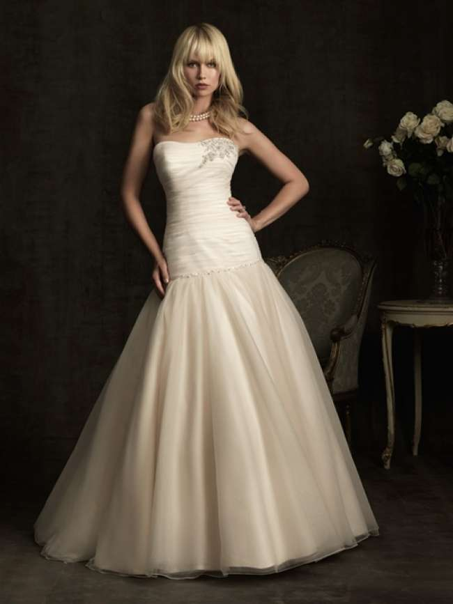 Allure Strapless Gown
