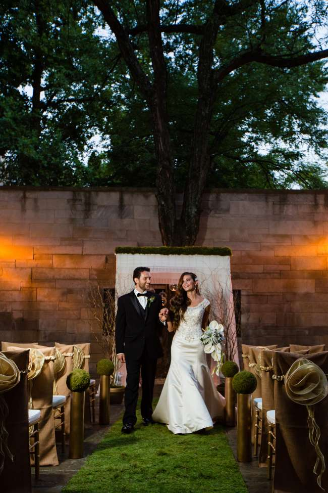 Outdoor Ceremony at the Indiana Memorial Union