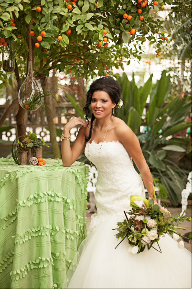 orange tree wedding