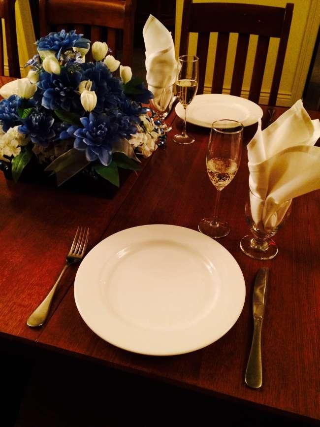 Reception Dinner in the Wine Cellar