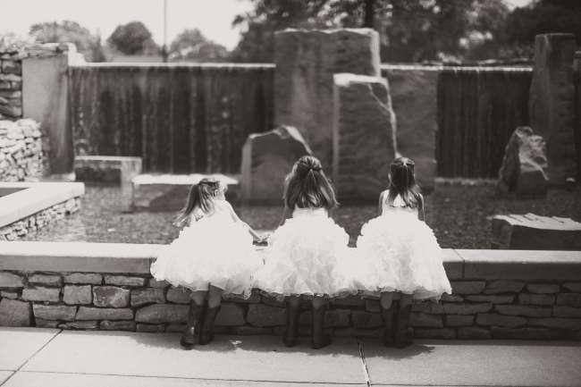 Flower Girls in Tip-Top Dresses