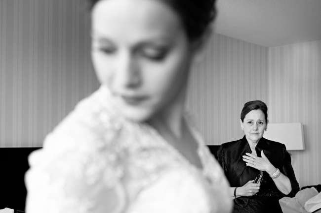 Mother-of-the-Bride Overtaken With Joy