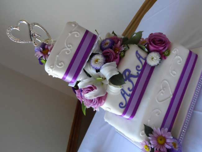Pretty in Purple Cake