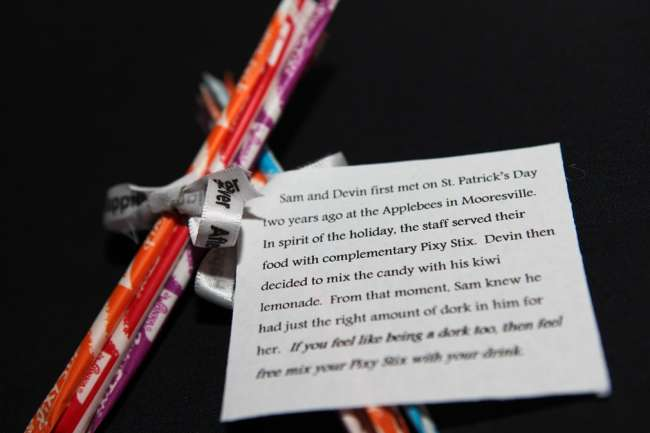 Pixy Stix Party Favors