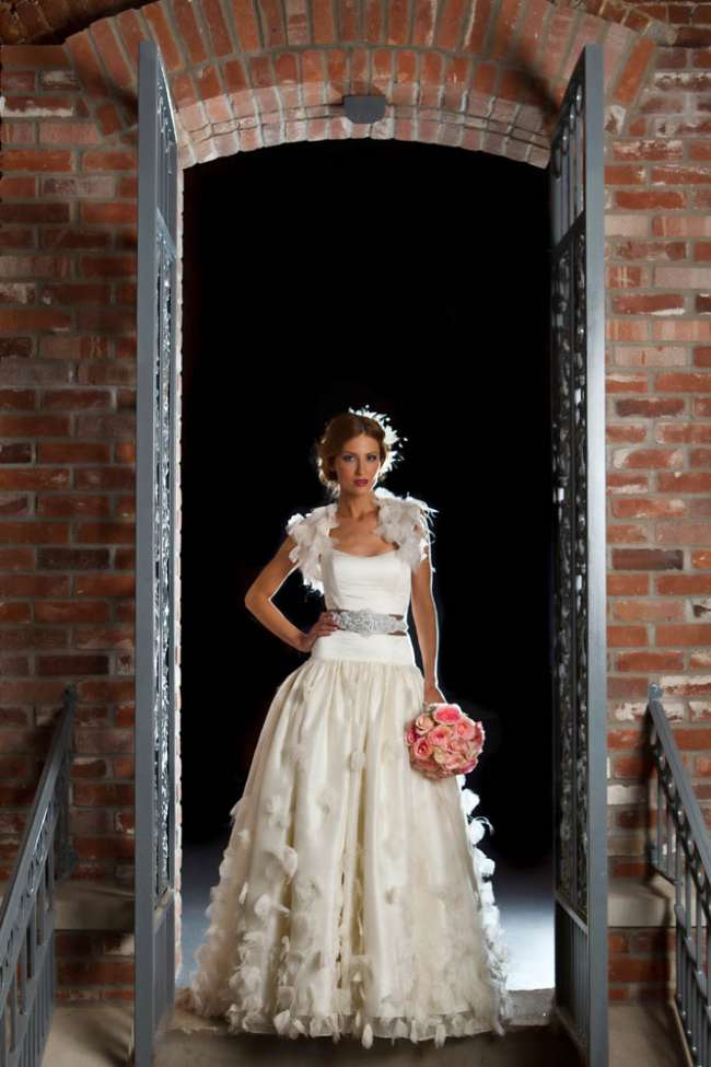 Bride in Urban Venue