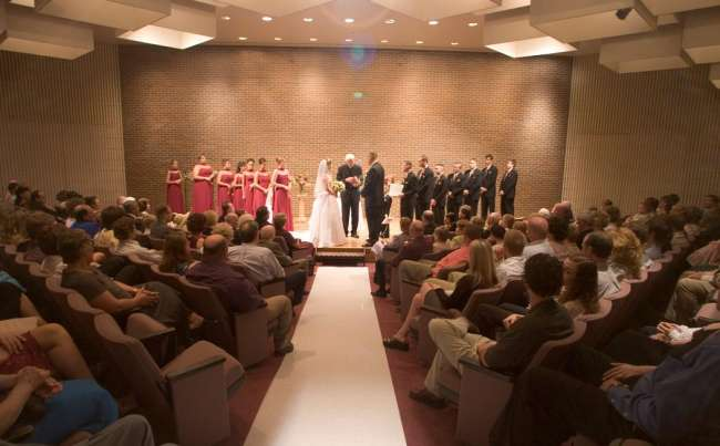 Recital Hall Ceremony
