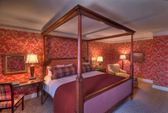 One of 30 Luxurious Rooms & Suites at Charley Creek Inn