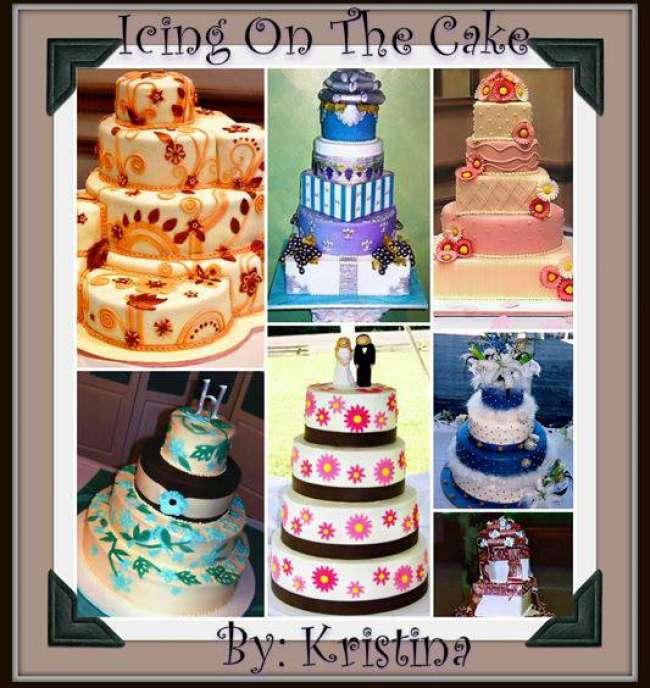 A portfolio of wedding cake designs