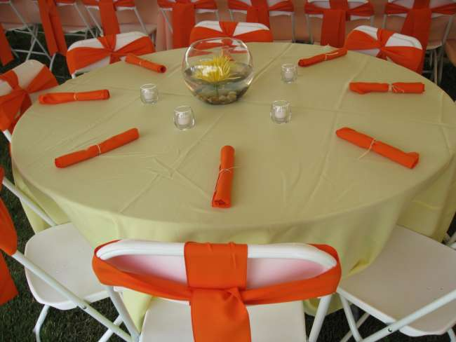 Yellow & Orange Tablescape