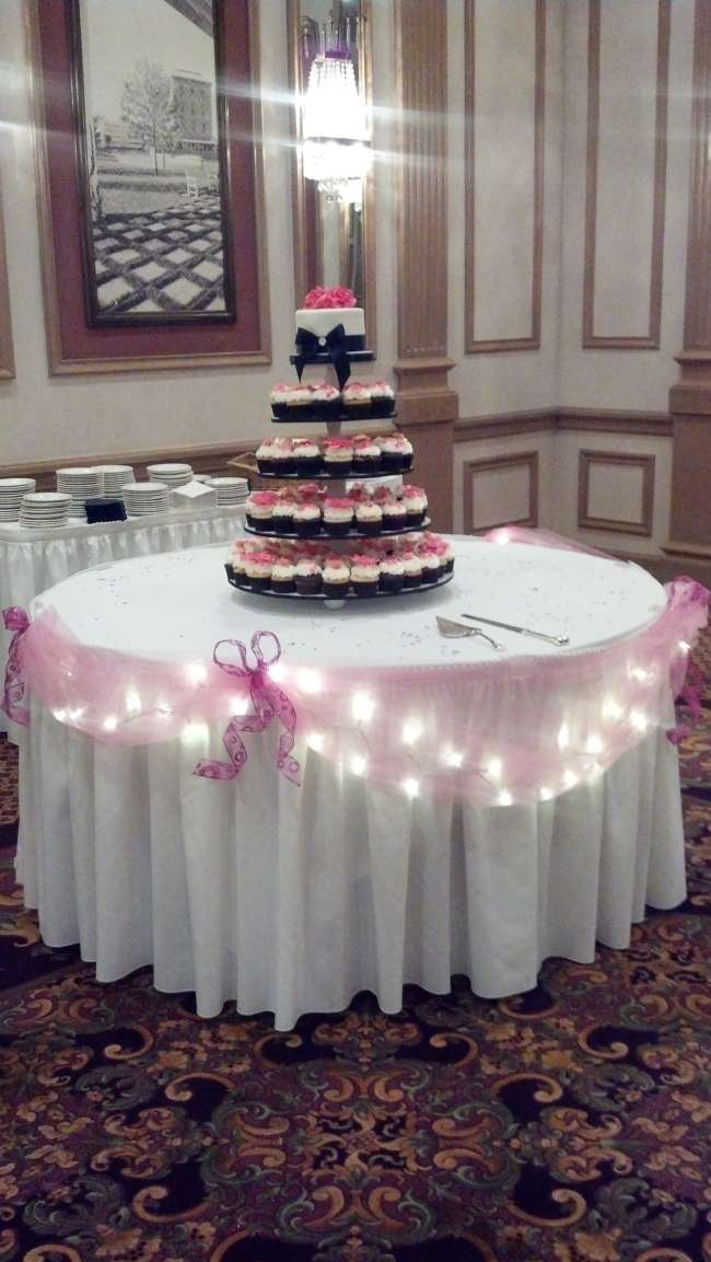 A Cupcake Tree in Pink