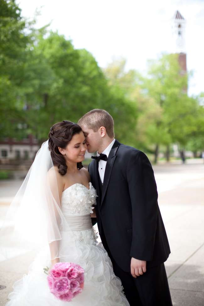 Spring Wedding at Purdue University