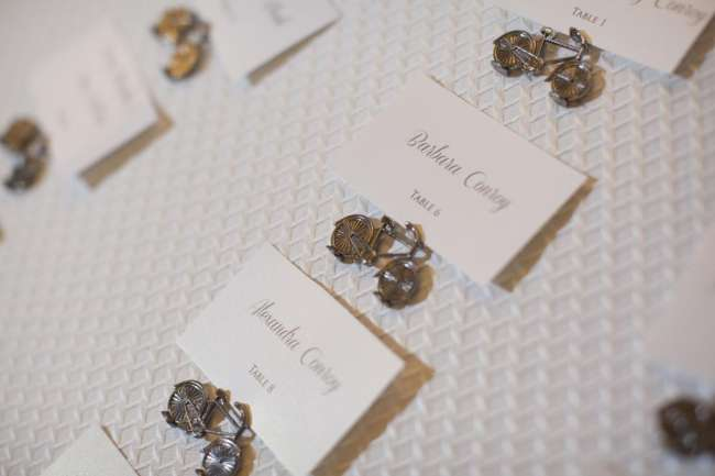 Mini Bicycles with Place Cards
