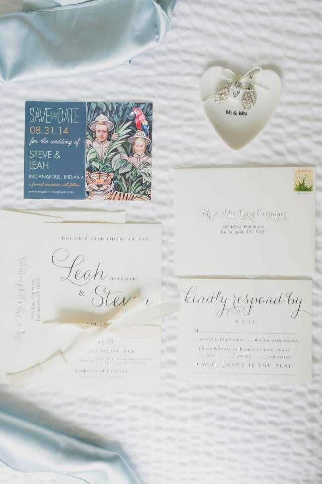 Romantic, Elegant Invitation Suite
