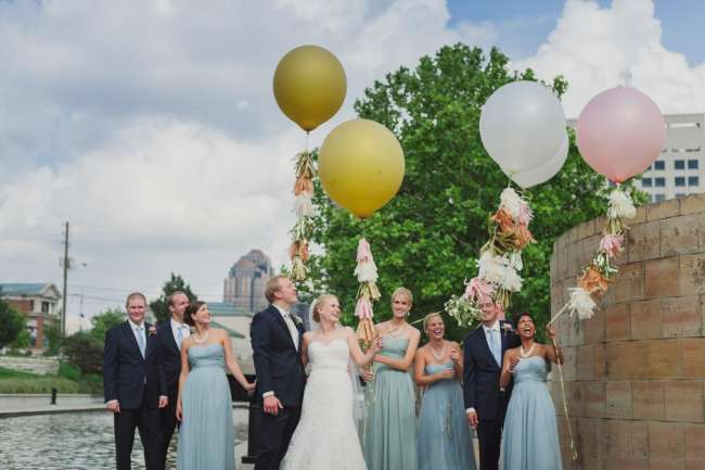 Wedding Party with Geronimo Balloons