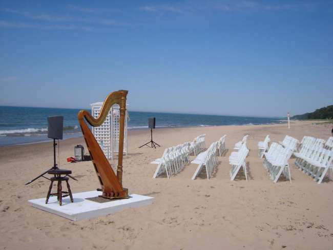 St Joseph Benton Harbor Beach Wedding