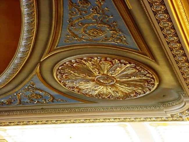 Historic Ballroom ceiling medallions