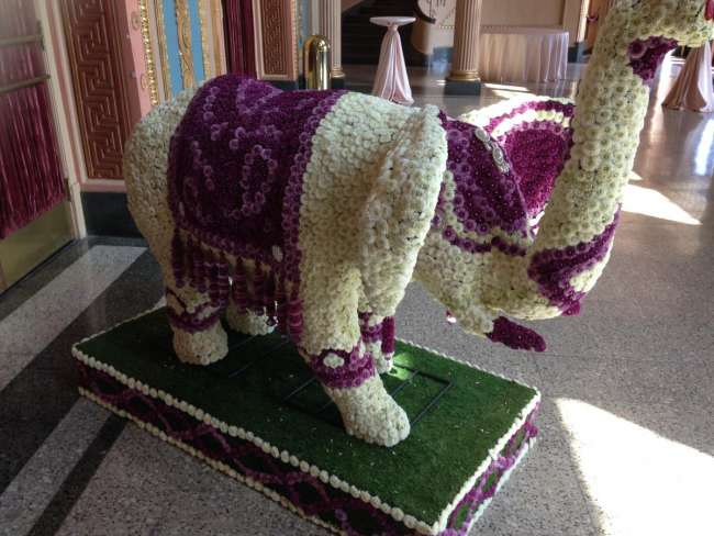 Wedding Elephant Decor