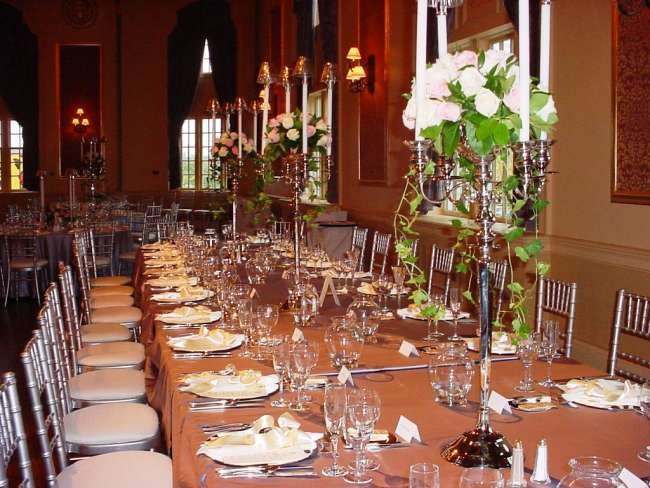 Head Table in Silver