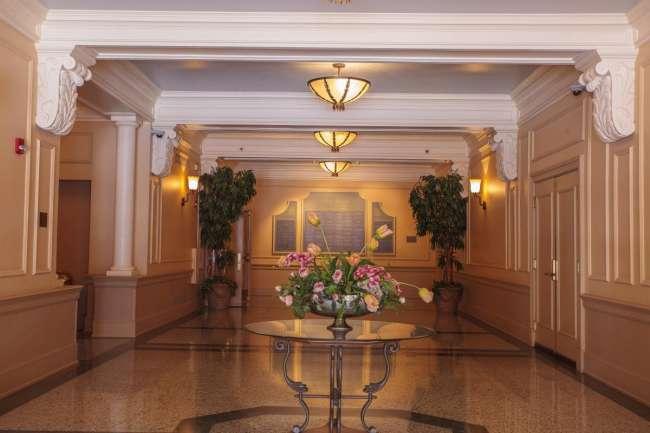 Palais Royale Lobby Entrance to Ballroom