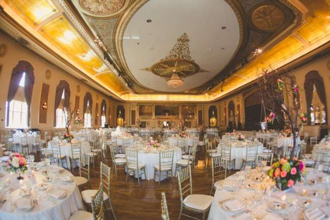 Palais Royale ballroom reception (long view)