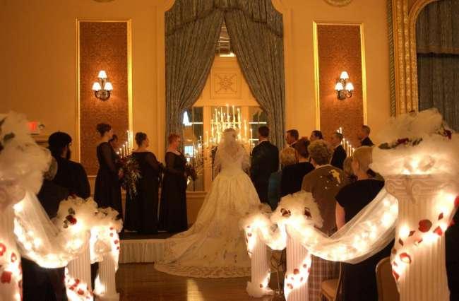 Ballrom Wedding Ceremony