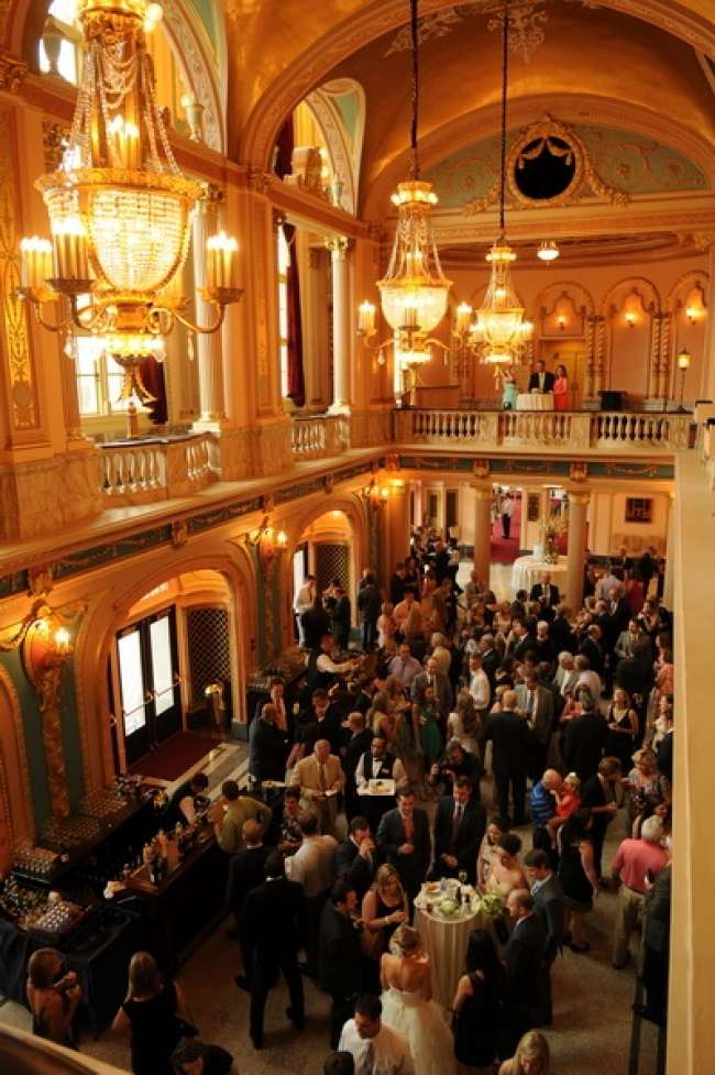 Cocktail Reception at Morris Performing Arts Center Grand Lobby