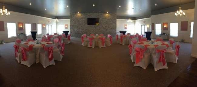 Intimate Wedding Reception
