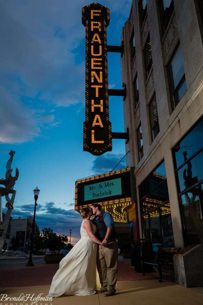 Fraunthal Theater Wedding