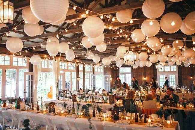 Rustic Barn Wedding Reception Weddingday Magazine