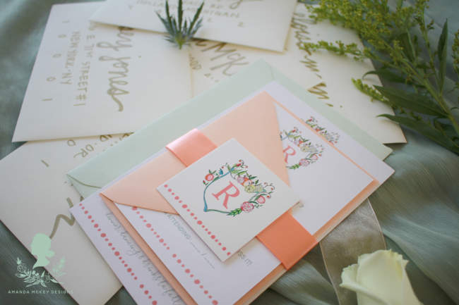 Custom Invites by Amanda McKey Designs