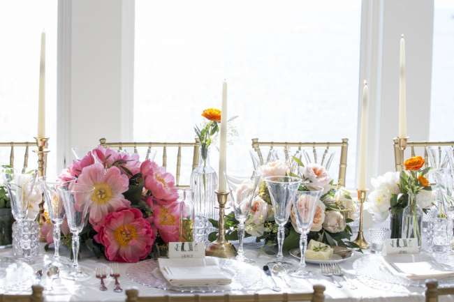 Romantic South Haven Tablescape