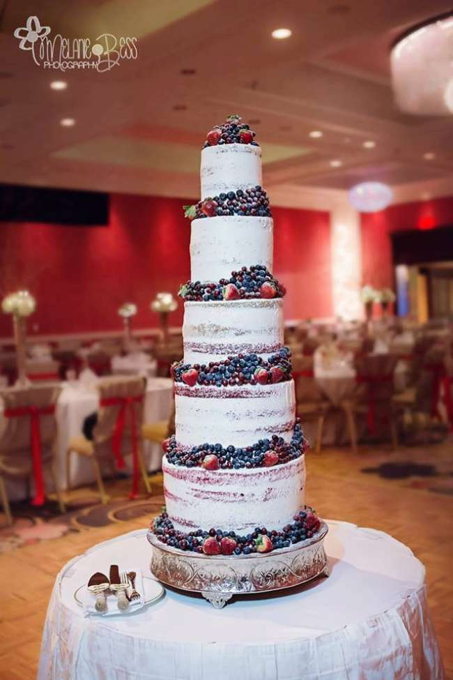 Beautiful 5' Cake designed by Divine by Design