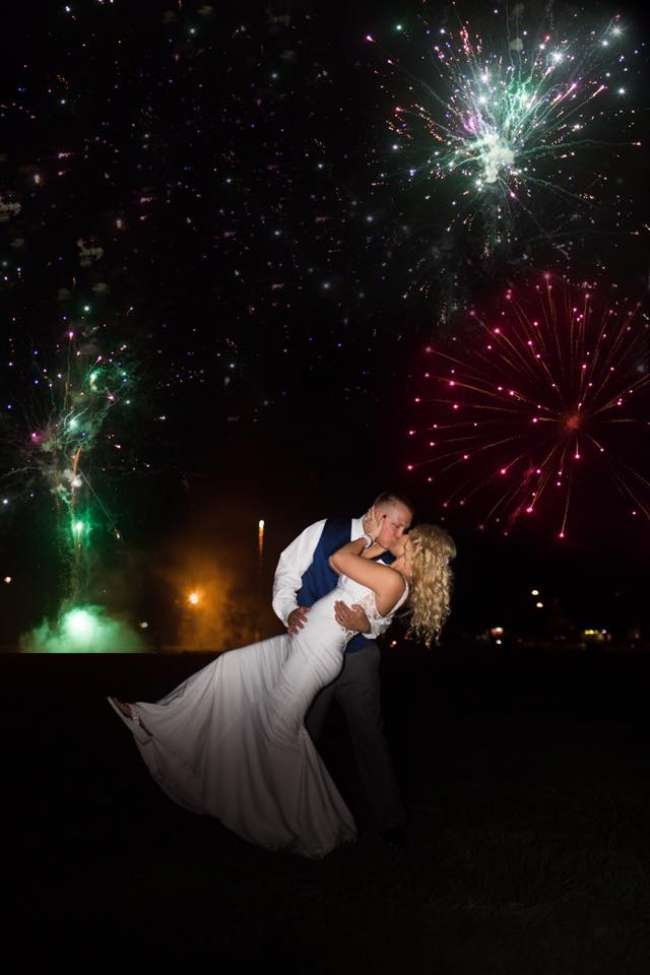 Memories for a lifetime. Let us take care of everything for your fireworks shoot.