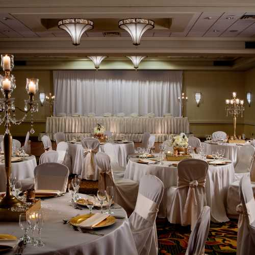 Grand Ballroom at the DoubleTree by Hilton South Bend