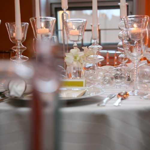 All White Tablescape