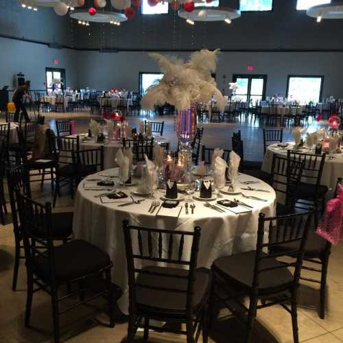 pretty wedding reception