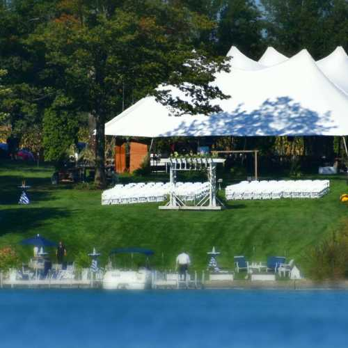 AAYS Wedding Tent Double Pole Sailcloth