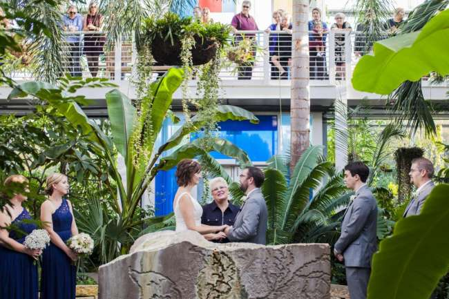 Indianapolis Zoo Wedding Ceremony
